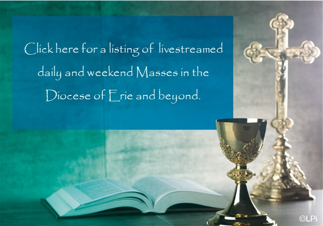 Click here for a listing of livestreamed Masses