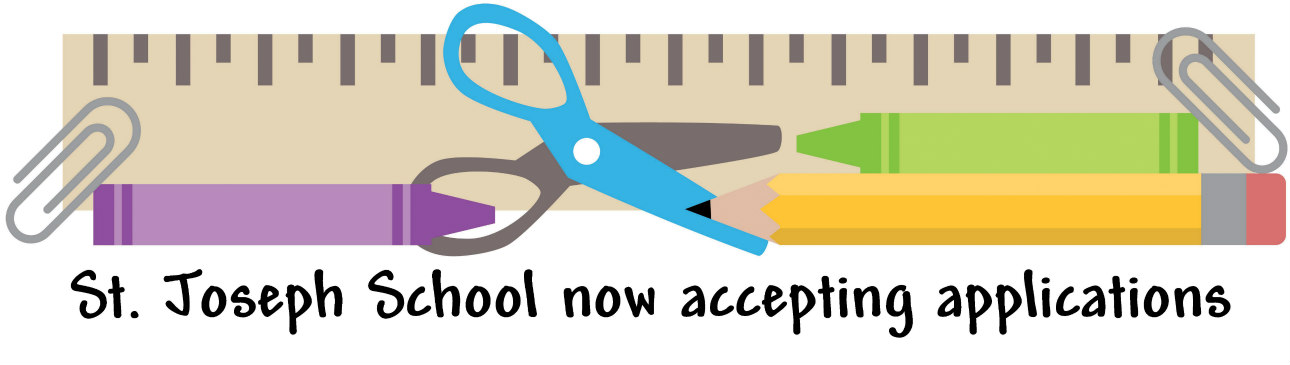 Accepting applications logo
